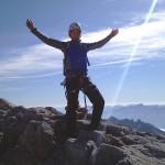 Kanü kurz vorm Gipfelsturm am Dachstein, Diashow und Sommer